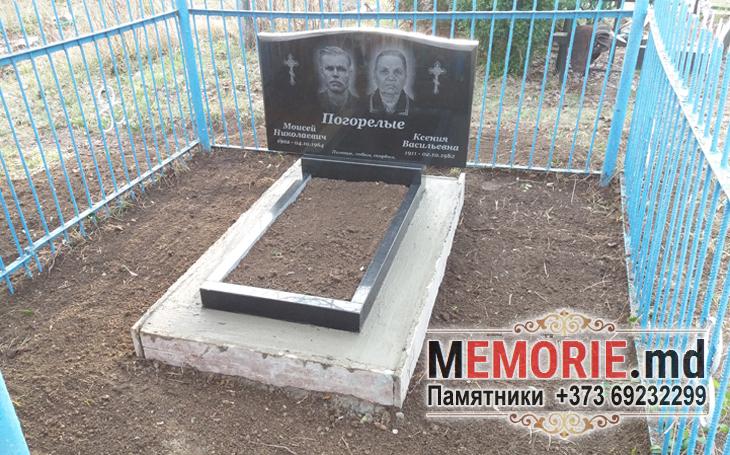 Памятник на могилу из гранита на двоих