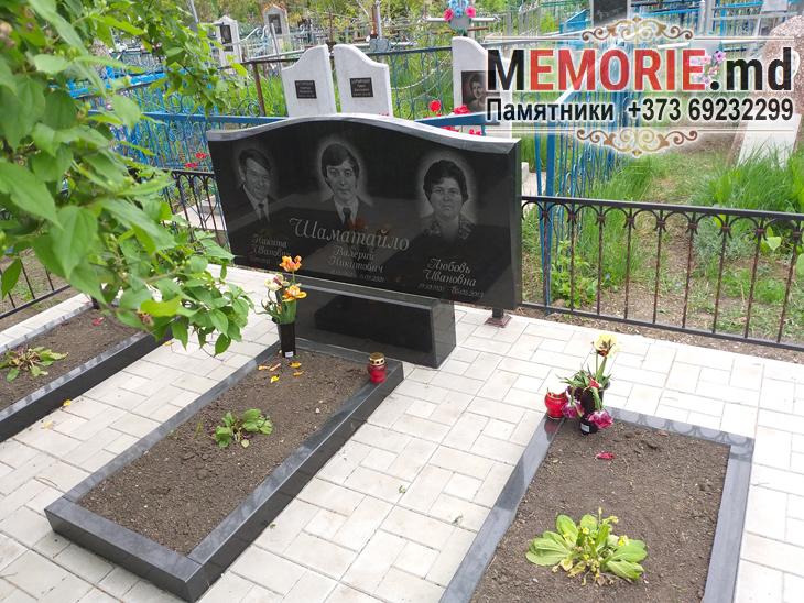 Памятник на троих Бельцы