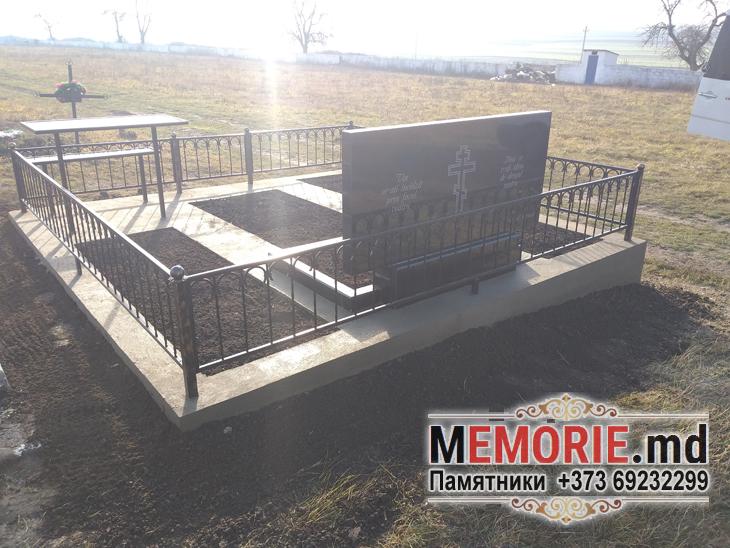Изготовление оградки кладбище Рышканы