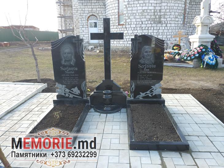 Monument funerar din granit Drochia