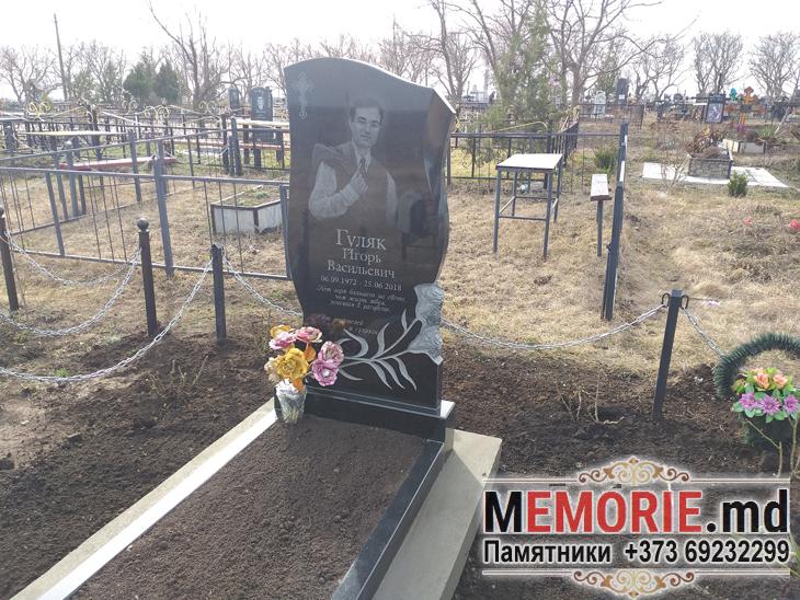 Установка гранитного памятника Глодяны